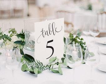Table Numbers Printable, Table Numbers, Wedding Table Numbers, Printable Table Numbers, Wedding Table Numbers Printable
