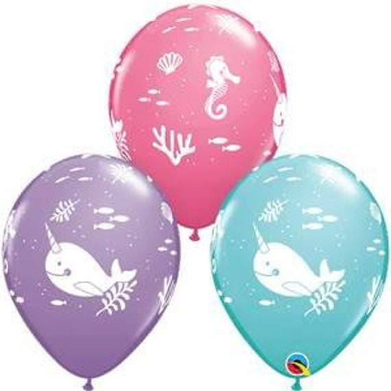 """SET OF TWO 18/"""" OTTERLY ADORABLE BALLOONS Shower PARTY FREE SHIPPING OTTER BABY"""