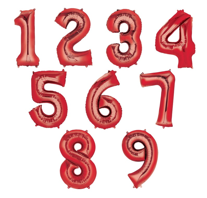The Muppets Wish You a Happy Birthday Party Event Bouquet of Balloons With Your Choice of Number 1-9