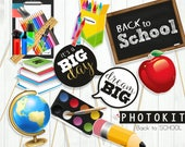BACK TO SCHOOL Photo booth props / instant download