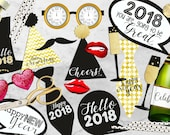 New Year printable photop...