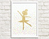 Ballerina printable sign / INSTANT DOWNLOAD