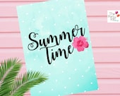 Summer printable wall art / INSTANT DOWNLOAD