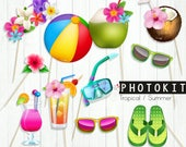 Summer party Photoprops, ...
