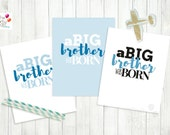 BIG Brother Printable Nursery Sign