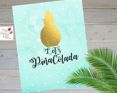Summer printable sign - wall decor/INSTANT DOWNLOAD