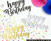 HappyBirthday Party printable / instant download