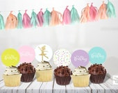 Ballerina printable toppers / Instant download