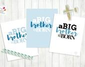 BIG Brother Printable Nursery Sign