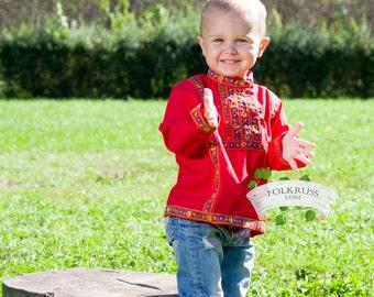 Tradition russian shirt Kosovorotka, Russian shirt for boy, Slavic shirt, Russian costume, Cotton shirt, Cossack shirt