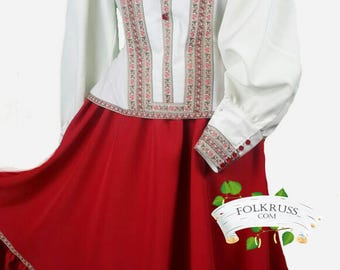 Cossack costume, Dance costume, cossack dress, kadril dress, Gipsy suit, Gipsy costume