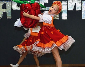 Russian Dance costume Malinka