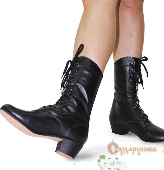 russesScenic Femme dansebottes bottes danse de de russe Cosaquesbottes bottesbottes Kadrillebottes Folklaçage chaussures de cosaque 9YED2IHW