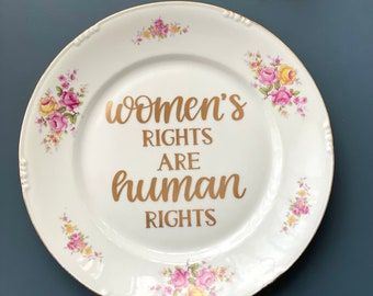 Women's Rights Are Human Rights - Empowerment Feminist Gift - Girl Power - Motivation Present for Her - Pro Choice - Smash The Patriarchy