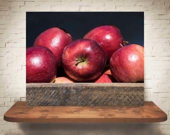 Apple Photograph - Fine Art Print - Wall Art - Home Decor - Farmhouse Decor - Pictures of Apples - Kitchen Decor - Kitchen Print