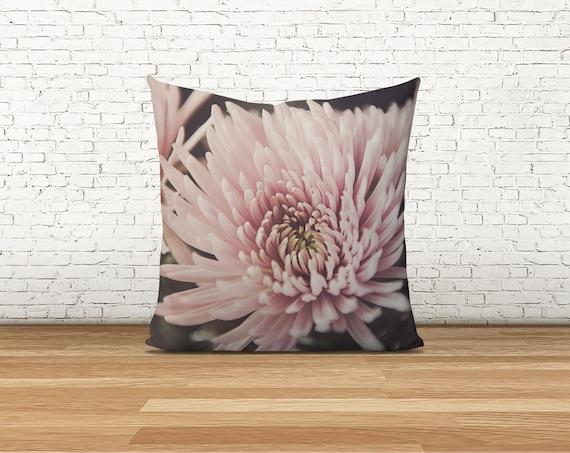 Pink Flower Pillow Throw Pillows Farm House Decor Gifts