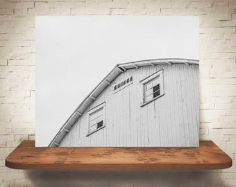 Barn Photograph - Fine Art Print - Black & White Photography - Wall Art - Wall Decor -  Barn Pictures - Farmhouse Decor - Country Decor