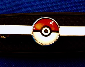 bf27f7c22b93 Pokemon Pokeball tie bar pokemon go tie clip gift idea~Handmade in the  USA~FAST Shipping from the USA~