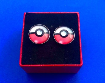 d39fe5666521 Pokemon Pokeball cufflinks pokemon go tie clip gift idea~Handmade in the  USA~FAST Shipping from the USA~