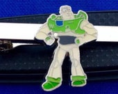 Buzz Lightyear Disney Character Toy Story Movie Tie Bar Tie clip Tie clasp~Handmade in the USA~FAST Shipping from the USA~Brand New