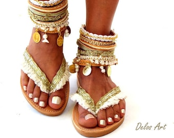 db27af3909ae2 Leather Boho Sandals