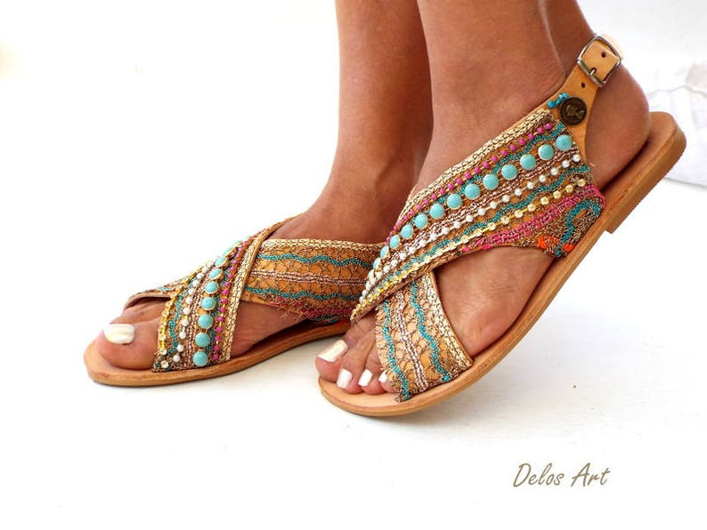 c229cca37cd9 Greek Leather Sandals Sofia Handmade sandals