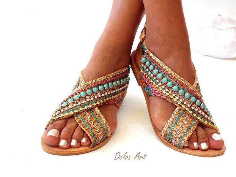 a76c60d2daa8 Greek Leather Sandals Sofia Handmade sandals