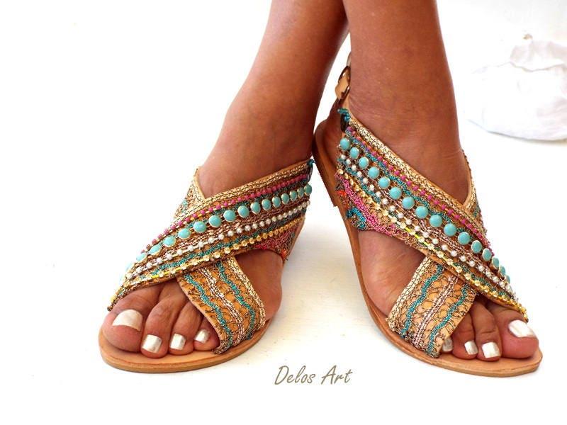 1edbd760f4d1 Greek Leather Sandals Sofia Handmade sandals