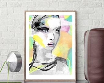 Bobby, fine-arts print with Passepartout