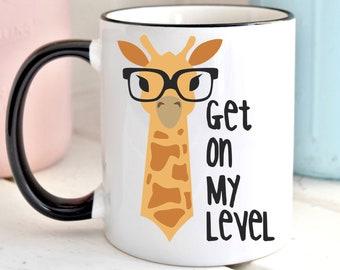 Giraffe mug | Etsy