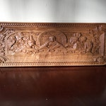 The Last Supper by Leonardo da Vinci * Last Supper * Christian Wood Carvings * Custom Carved Wood Plaque *