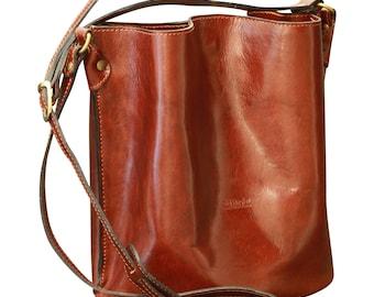 73c7c7c20e3f Italian Leather Shoulder Bag Travel Bag Handbag Made In Italy - SKU  2054