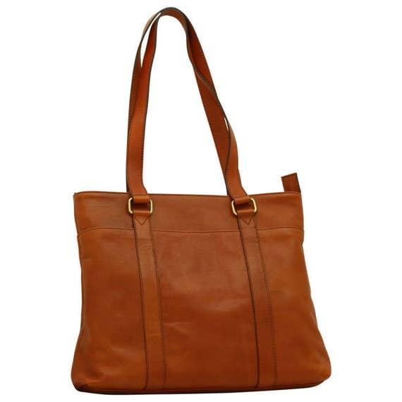 bacb703b7bac Leather Tote Bag Laptop Bag 13 Inch Laptop Bag Handmade Bag Italian Leather Made  In Italy - SKU  306G