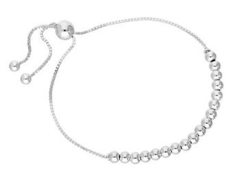 Adjustable Large Bead Bracelet