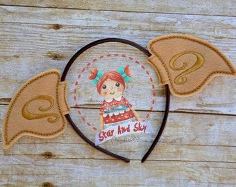 Elf Ears Inspired Headband Dobby Free Photo Prop