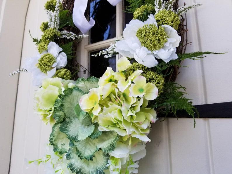 Iltk Calendario.Shabby Chic Wreath Spring Wreath Easter Wreath Mother S Day Front Door Wreath Elegant Wreath Farmhouse Wreath Natural Wreath
