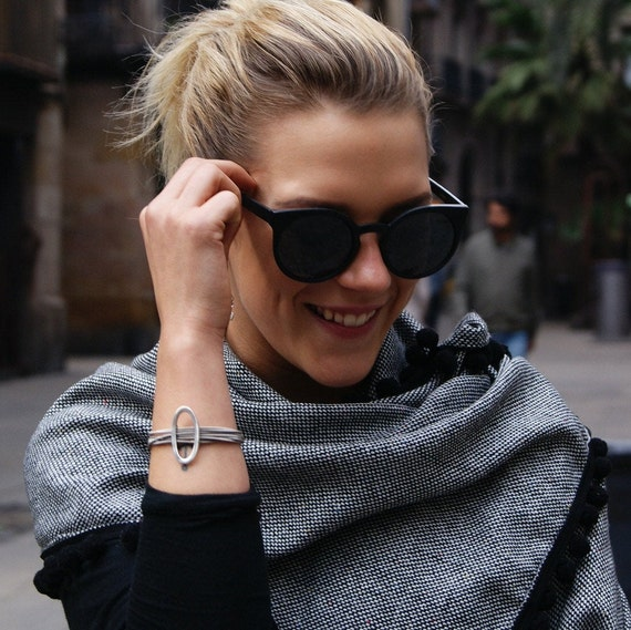 vintage bracelet, thread bracelet, steel thread bracelet, woman bracelet, original bracelet, silver woman bracelet, silver bracelet, woman