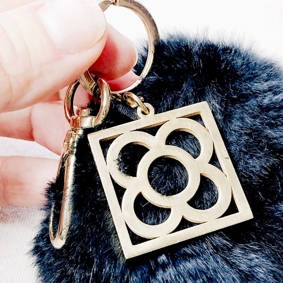 Gold Barcelona stainless steel keychain strong, for women gift, gift for mommy, Barcelona trip, Barcelona jewelry