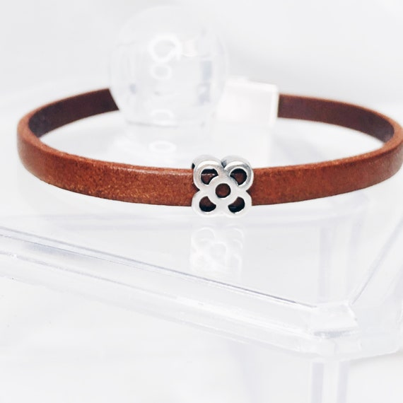 men  bracelet Barcelona, leather bracelet, Barcelona flower bracelet, Barcelona flower bracelet, Barcelona tile, Panot, Barcelona gifts