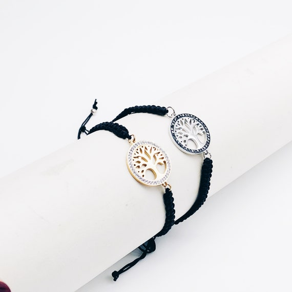 tree of life bracelet, tree of life charm bracelet, tree of life yoga bracelet, stainless steel, chakra bracelet, adjustable bracelet.