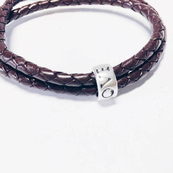 man bracelet, leather man bracelet, braided leather bracelet, engagement bracelet, gentleman bracelet, friendship bracelet, love bracelet