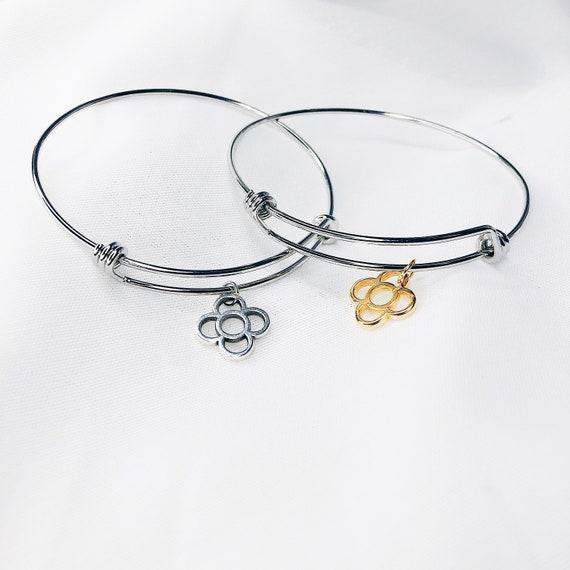 Rigid Bracelet Rosalia, initial Bracelet, Chunky lyric Bracelet, Barcelona panot Bracelet, Dense Clip Style, TRIP Bracelet, Statement Chain