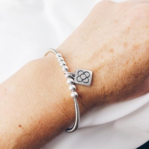 panot bracelet, panot flower bracelet, Barcelona bracelet, Barcelona flower bracelet, Barcelona tile, Panot, Gifts Barcelona