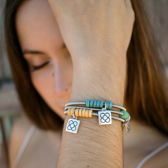 women's bracelet, ceramic bracelet, flexible bracelet, elastic bracelet, women's bracelet, breast bracelet, original bracelet
