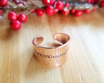 Actual handwriting ring, custom handwritten ring, engraved signature ring, adjustable name ring memorial jewelry, Personalized keepsake gift