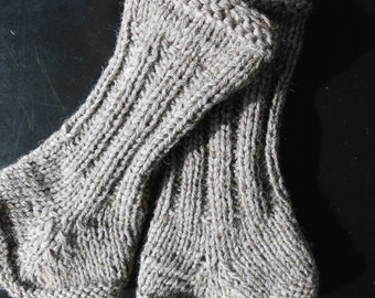 Leg warmers women's hand knitted