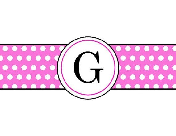 Pink Classic Polka Dot
