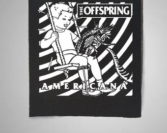 PUNK METAL MUSIC SEW ON /& IRON ON PATCH:- THE OFFSPRING a POP ROCK