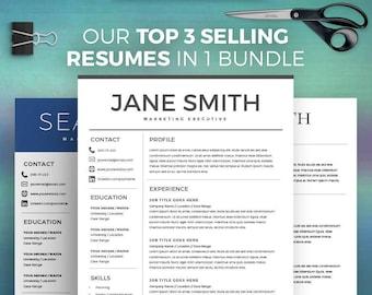 Best Resume Template Etsy