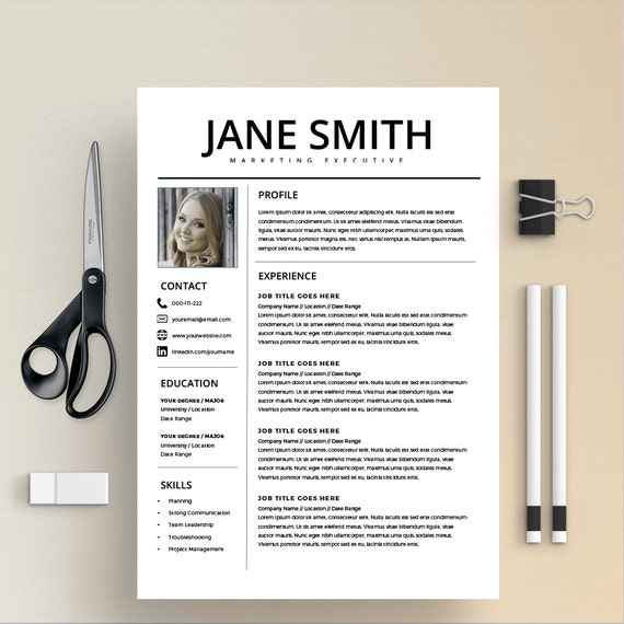 Cv Cover Letter Nz: Professional Resume Template MS Word Compatible Best CV